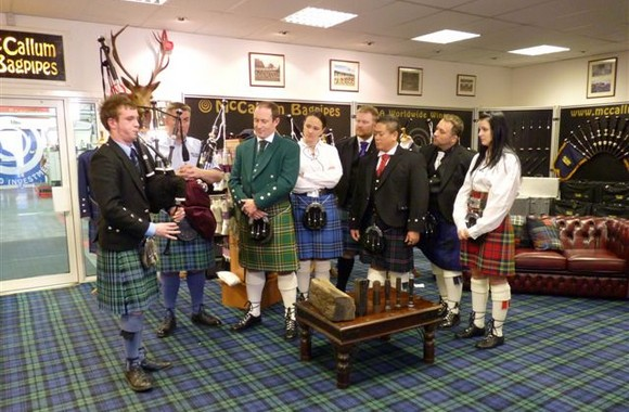 Ghost Hunters International at McCallum Bagpipes