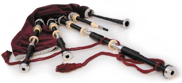 A set of AB4 McCallum Bagpipes